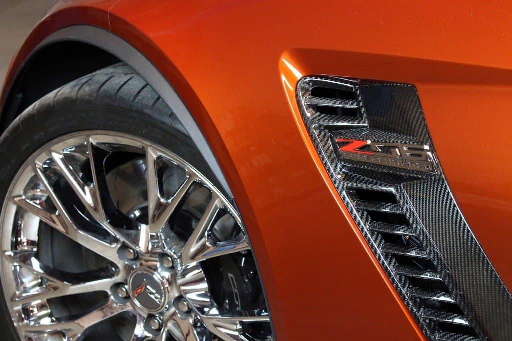 Cf 700802 2015 2018 C7 Corvette Z06 Carbon Fiber Front